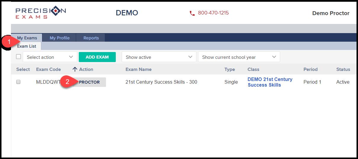 001 Student Score Report