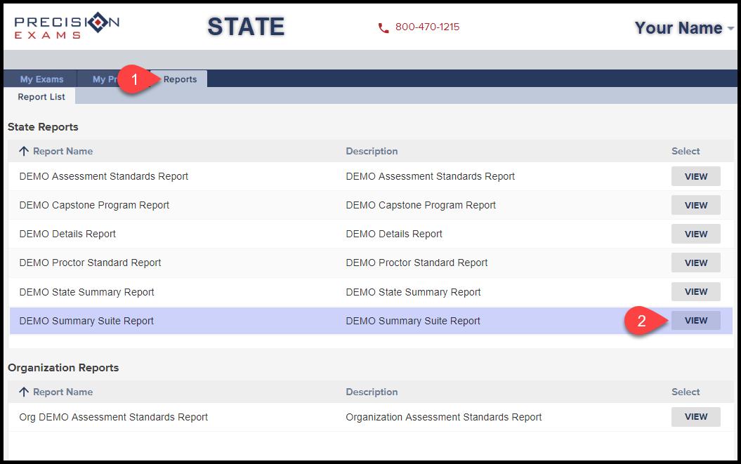 001 Summary Suite Report